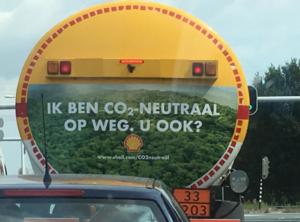 Greenwashing Shell: ik ben co2-neutraal op weg, u ook?
