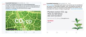 Exxon - greenwashing - fossiele reclame