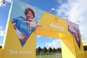 Greenwashing Shell: kinderfestival over de toekomst van energie (met sluikboodschap dat in 2050 nog 70% van de energie fossiel is .