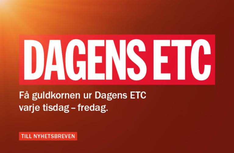 Dagens ETC weigert fossiele reclames