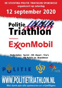 Exxon sponsort politie triathlon - dat is fossiele reclame