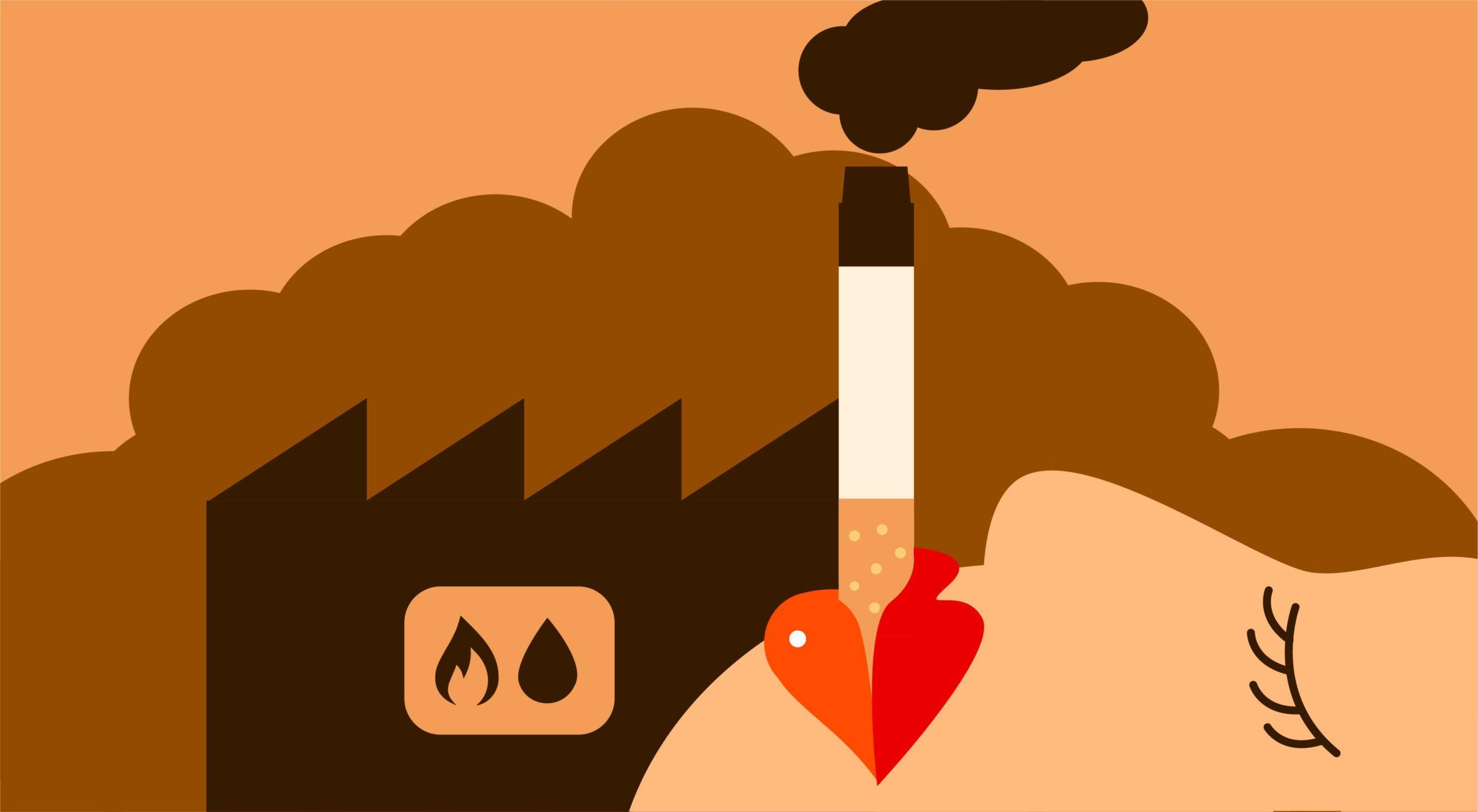 Een tabakswet voor de fossiele industrie: verbied fossiele reclame en zet een waarschuwing bij verkooppunten