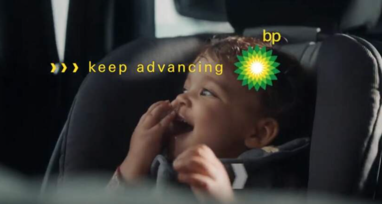 Greenwashing Ad BP - verbied fossiele reclame