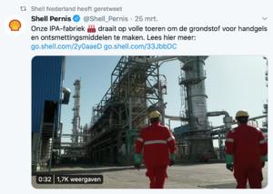 Shell en corona - MVO als lobby