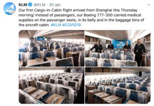 KLM en corona - MVO als lobby