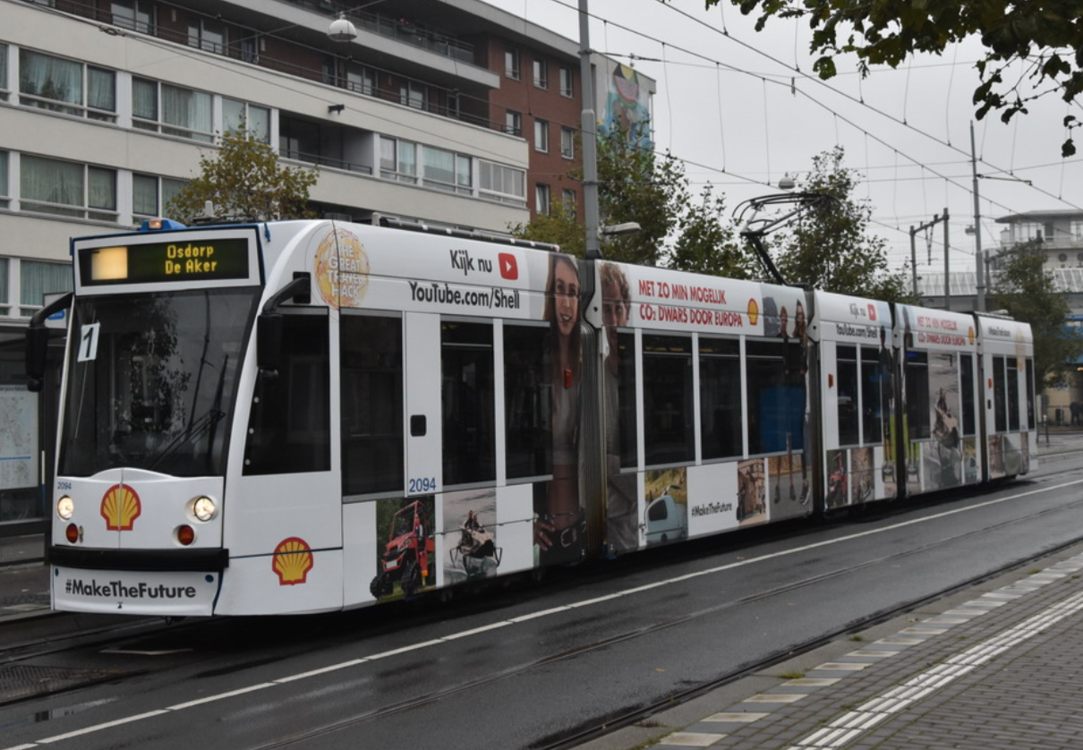 Tram Shell Amsterdam Osdorp
