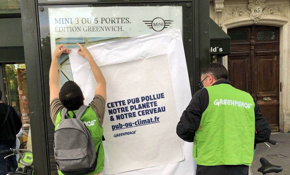 reclameverbod fossiele industrie autoreclame luchtvaart frankrijk loi evin climat
