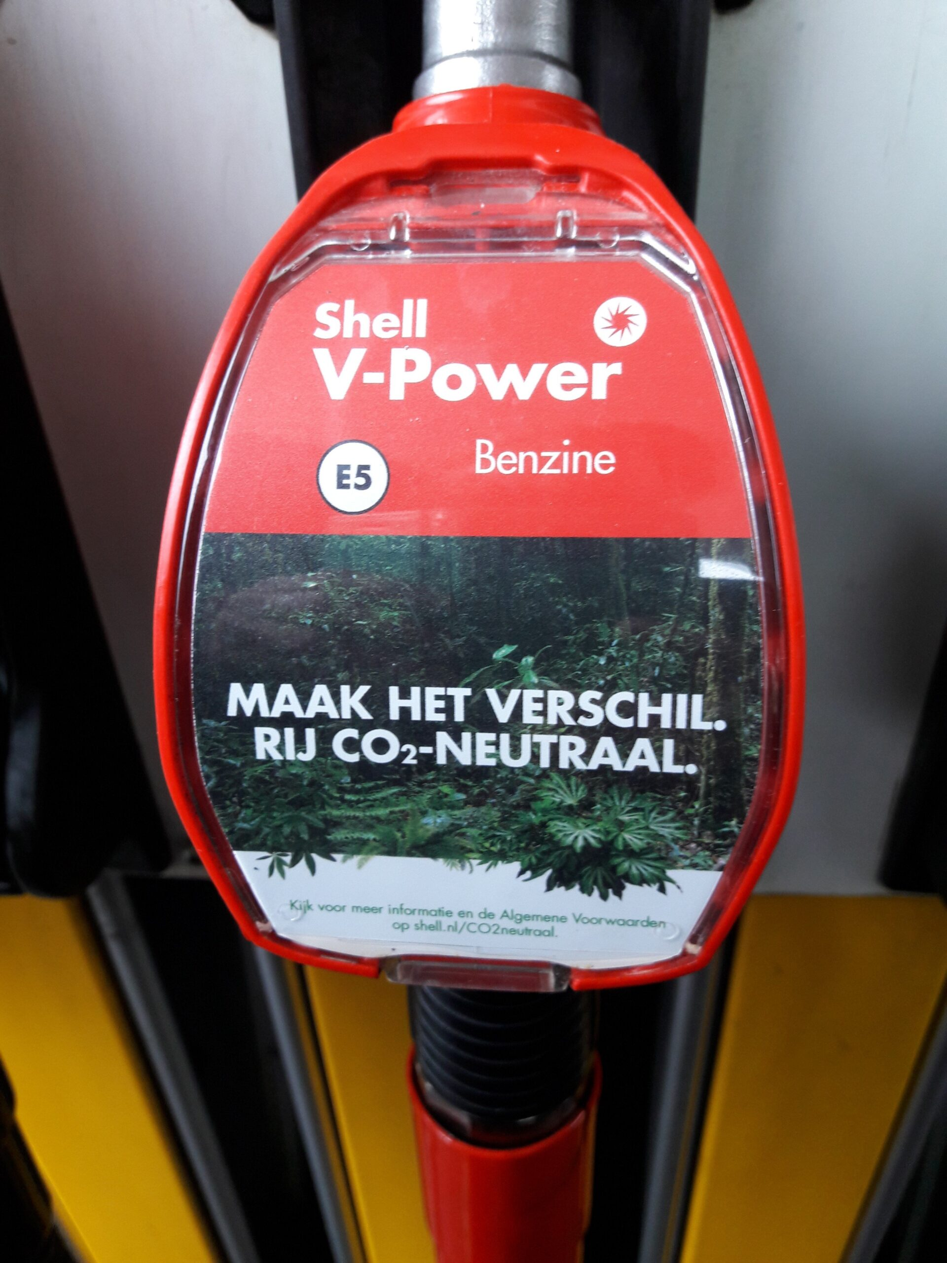 Greenwashing aan de pomp