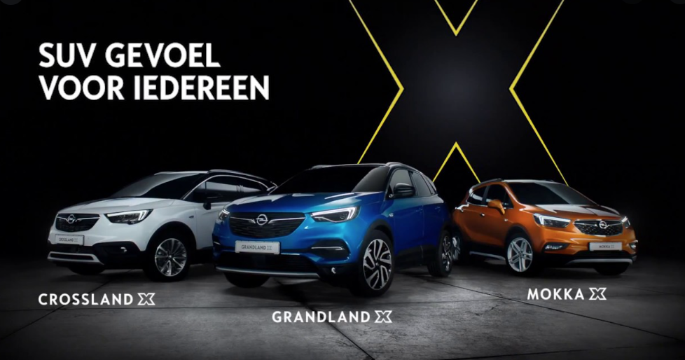SUV reclame Opel