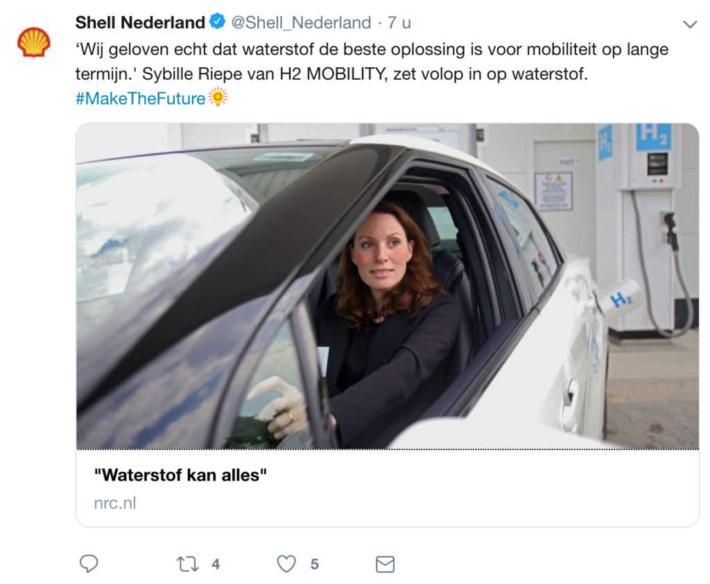 NRC twitters voor Shell