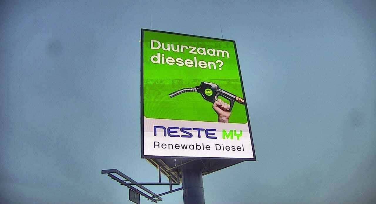 Advertentie van Neste - renewable diesel